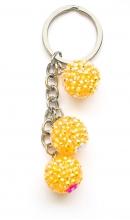 Blingbling kralen geel