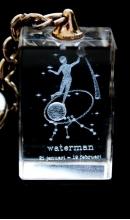 Sleutelhanger kristal Waterman