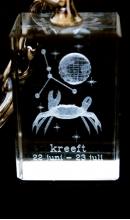 Sleutelhanger kristal Kreeft