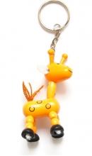 Sleutelhanger giraf op pootjes
