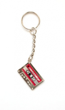Sleutelhanger cassettebandje